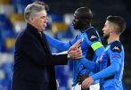 Napoli Sack Coach Ancelotti Despite Making It Into UCL Last 16