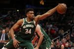 Antetokounmpo Leads Bucks To East Top Spot After Putting Out Miami Heat