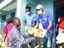 NSL Leaders Nairobi City Stars Donate In Kibera Amid Coronavirus Pandemic