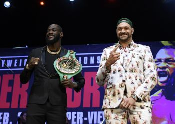 Heavyweight Champ Deontay Wilder Takes A Jab At Fury Ahead Of Rematch
