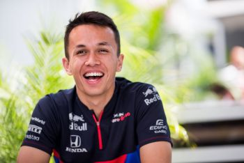 Thai Star Alex Albon Secures Permanent Red Bull Driver Status For 2020 F1 Season