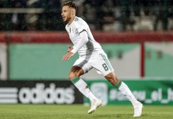 Belaili Scores Direct From Corner To Give Algeria Victory In Botswana