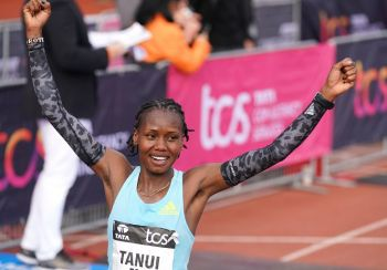 Record-Breaking Tanui Dedicates Amsterdam Marathon Win To Deceased Agnes Tirop