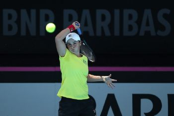 World Number One Barty Ready To Steer Australia To Fed Cup Victory