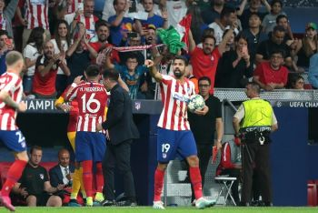 Late Herrera Header Secures Point For Atletico Against Juventus