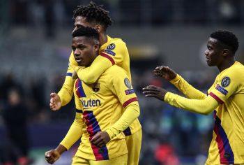 Barca Teenager Ansu Fati Makes History As Inter Sent Packing