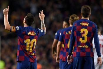 Lionel Messi Off The Mark As Nine-Man Barcelona Destroy Sevilla