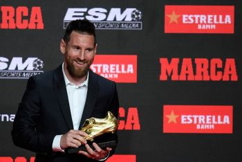 Lionel Messi Wins Third Straight European Golden Shoe