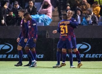 Heavyweights Barcelona, Madrid Made To Sweat For Copa Del Rey Wins