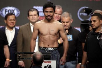 Manny Pacquiao: I'm Out To Capture Thurman WBA Welterweight Crown