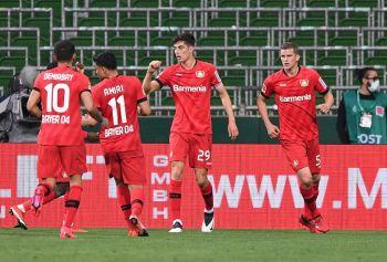 Kai Havertz Stars As Bayer Leverkusen Hammer Werder Bremen