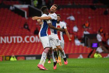 Wilfried Zaha Brace Gifts Crystal Palace Win Away At Old Trafford