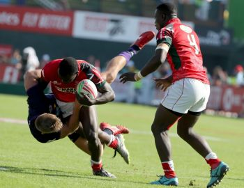 HSBC Dubai 7s: Shujaa Humbled By SA And England, Lionesses Remain Unbeaten