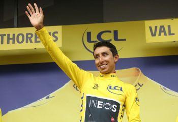 Young Colombian Rider Egan Bernal Is Tour De France Champion