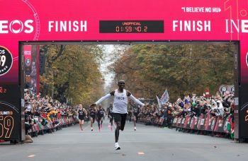 Riadha: Eliud Kipchoge Aweka Rekodi Ya Dunia Kwenye Mbio Za Marathon Vienna