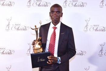 Marathon Legend Eliud Kipchoge Wins Best Male Athlete Of Tokyo 2020 At ANOC Awards