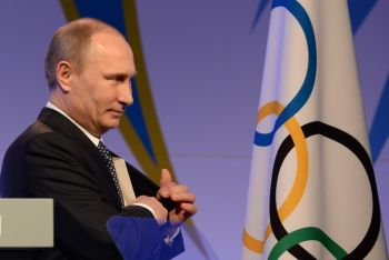 Putin Insists Athletes Must Compete Under Russian Flag Despite Ban