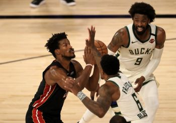 NBA Playoffs: Mighty Heat Beat Bucks To Eastern Finals, Lakers Take 2-1 Lead