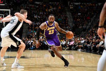 NBA: LeBron James Aupiga Mwingi, LA Lakers Wakishinda Mechi Ya Sita Mfululizo