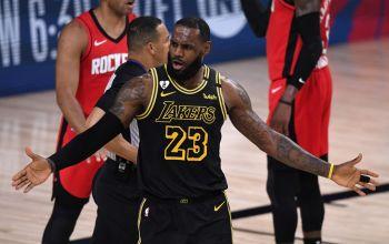 Bucks Lose Antetokounmpo But Beat Heat, Lakers Level Series With Rockets