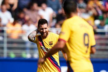 La Liga: GSM Waipa Ushindi Barcelona Mbele Ya Eibar
