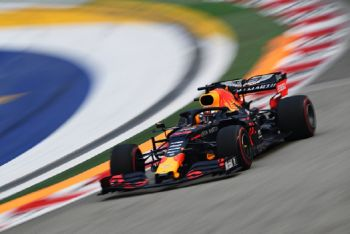Max Verstappen Leads The Way In First Singapore GP Practice