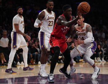 NBA Champs Raptors Snap Lakers Winning Streak, Bucks Hush Thunder