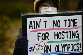 Olympics Chief Says Next Year's Games Will Be Cancelled If Pandemic Is Not Over