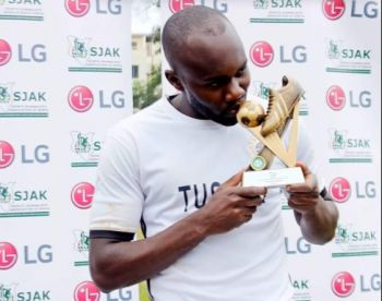 Tusker's Timothy Otieno Eyes Golden Boot After Scooping November Player Award