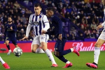 Real Madrid Go Top Of La Liga After Gritty Win At Valladolid