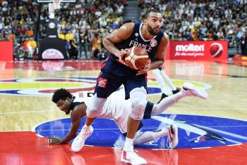 Rudy Gobert Stars As France Shock Holders USA In World Cup Quarters