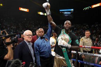 Deontay Wilder Floors Ortiz To Retain WBC Heavyweight Title