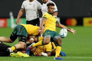 Genia To The Rescue As Wallabies Survive Fiji Scare To Win RWC Opener